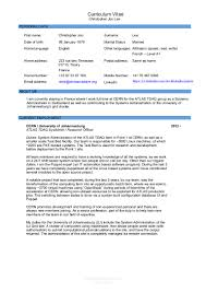 Resume Security Clearance Example by Cv Chris 2015