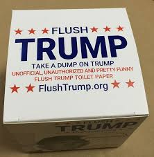 flushtrump donald trump toilet paper toys u0026 practical jokes