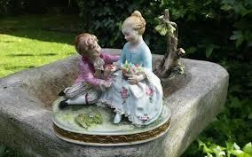 capodimonte figurine vintage porcelain ornament collectable