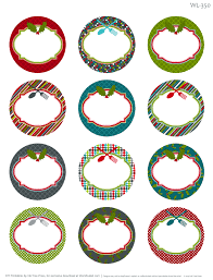 10 best images of blank round labels template 2 circle label