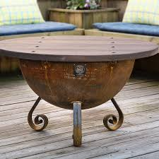 Tabletop Firepit by Handcrafted Table Top For 30 U2033 Firepit Local Purchase Only