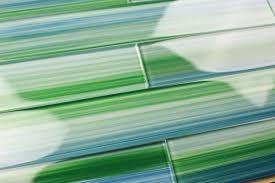 Green Tile Kitchen Backsplash Interior Kitchen Backsplash Glass Tile Green Regarding