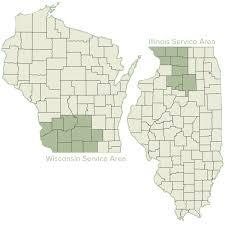 Wisconsin Illinois Map by Stateline Dogwatch Dogwatch