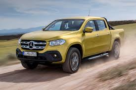 future mercedes truck new mercedes benz x class pickup revealed in full by car magazine