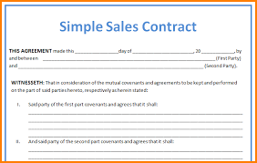 sales contract of real estate best resumes curiculum vitae and
