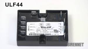 whelen ulf44 four outlet four channel led flasher youtube
