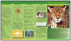zoo brochure template zoo brochures create a zoo lessons tes teach template renanlopes me