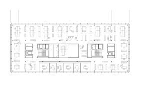 Offices Floor Plans Gallery Of Office Building 200 Nissen U0026 Wentzlaff Architekten 12
