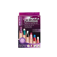 asp fast u0026 fabulous fancy french glitter kit