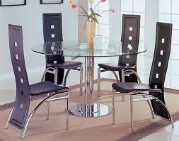 silver dining room set casual dinette sets
