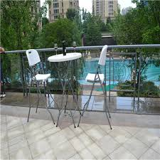 Plastic Bar Table Small Round Folding Table Outdoor Bar Table Plastic Folding
