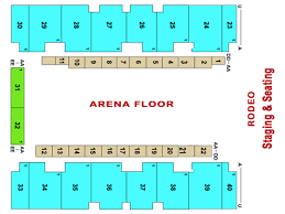 el paso county coliseum stages and seating charts