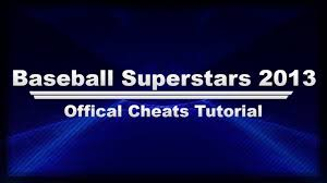 baseball superstars 2013 cheats official youtube