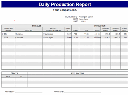 daily site report template professional daily work production report template sle helloalive