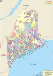 map of maine cities maine zip code map maine postal code