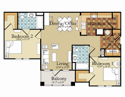2 bed floor plans 2 bedroom house plans in india beautiful apartments bed floor plan