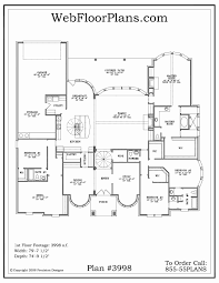 100 new home plans with inlaw suite tres le fleur 4445 3