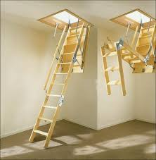 best commercial garage attic access stairs with easy access and
