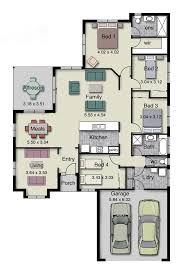 100 floor plan single storey bungalow 4 point plans
