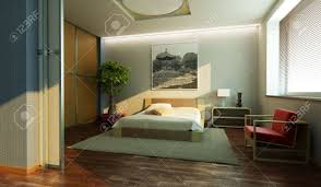 japan style bedroom interior 3d rendering stock photo picture and