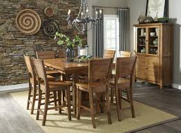 Pub Dining Room Tables John Thomas Furniture Canyon 7 Piece Extension Pub Dining Room Set