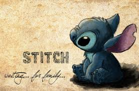 stitch waiting for family by vivsters on deviantart
