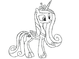 my little pony coloring pages cadence magic coloring page my little pony friendship is magic coloring