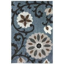 mohawk home area rugs mohawk home hazelhurst abyss blue 5 ft x 8 ft area rug 472511