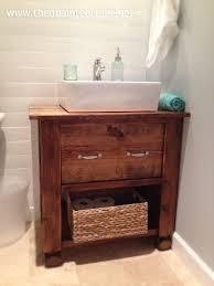 Vanity Diy Ideas Bright Ideas Make Bathroom Vanity Diy Perfect For Repurposers From