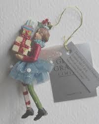 Gisela Graham Glass Easter Decorations by Gisela Graham Christmas Tree Decoration Small Angel
