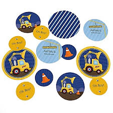 construction baby shower construction truck baby shower decorations theme
