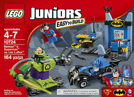 amazon lego juniors batman u0026 superman lex luthor 10724