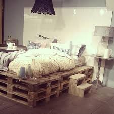 Shabby Chic Bed Frames by 20 Brilliant Wooden Pallet Bed Frame Ideas For Your House
