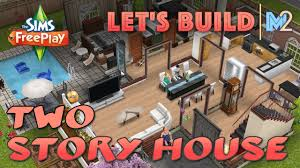 fantastic 2 story house plans sims freeplay 6 design window