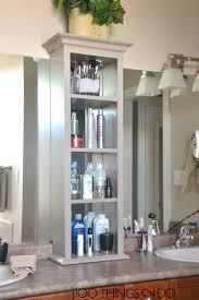 Shelves For Bathroom Cabinet Bathroom Shelves Appealing Bathroom Cabinets Wonderful Vanity