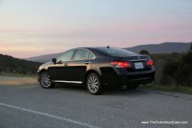 old lexus sedan review 2012 lexus es350 the truth about cars