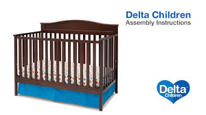 Delta Winter Park 3 In 1 Convertible Crib Delta Children Larkin 4 In 1 Crib Assembly