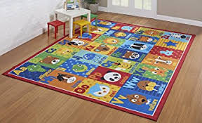 Abc Area Rugs Smithsonian Rug Abc Alphabet Learning Carpets Bedding