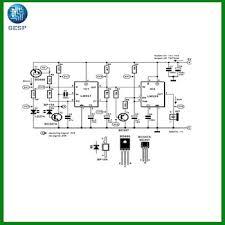 electrical generator avr circuit diagram schematic pcb design