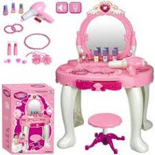 childrens dressing table mirror with lights girls princess glamour mirror dressing table vanity beauty play set