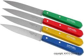 kitchen paring knives set of 4 opinel paring knives n 112 classiques knivesandtools com