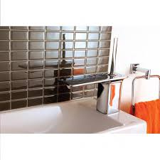 mosaique autocollante pour cuisine carrelage salle de bain castorama best credence autocollante pour