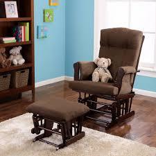 Baby Relax Glider And Ottoman Espresso Furniture Walmart Glider Rocker For Excellent Nursery Furniture