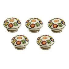 White Porcelain Cabinet Knobs Ceramic Cabinet Knobs Cabinet Hardware The Home Depot
