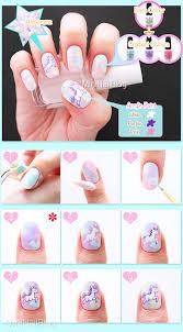 unicorn nail art nailbees