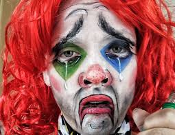 Halloween Makeup Clown Faces by Sad Drunk Clown Makeup Face Paint Tutorial Youtube