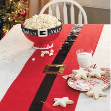 Holiday Table Runners by Santa Belt Sequined Table Runner U2013 Bella Bug