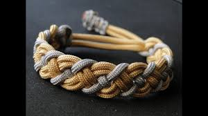 woven weave paracord bracelet images How to make a paracord celtic bar bracelet mad max style closure jpg
