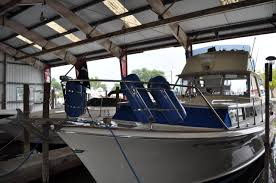 1966 used chris craft 38 commander convertible fishing boat for