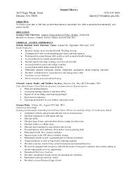 download criminal justice resume objective examples